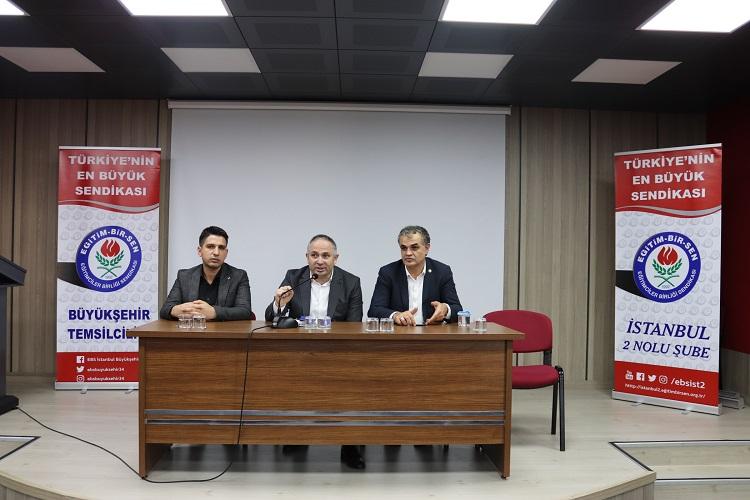 İstanbul İl Mem Üyelerimizle Buluştuk